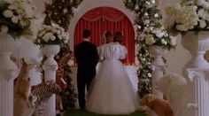 A Couple Threw An 'American Horror Story'-Themed Wedding At The Real-Life Hotel Cortez (And Pepper Came!)