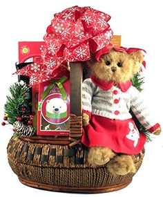 Gift Basket Village Wishing You A Beary Special Christmas Basket 100 Pound >>> Learn more by visiting the image link.