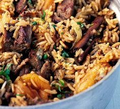 Spicy Moroccan rice recipe - Recipes - BBC Good Food