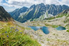 High Tatras by Tjeerd Collette Polish Mountains, High Tatras, Tatra Mountains, Big Country, Lonely Planet, Trip Planning, Poland, Beautiful Places, To Go