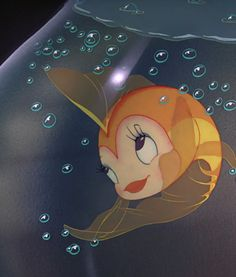 Sweet little Cleo, Pinocchio  this fish is prettier than me