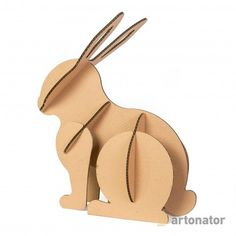 Cardboard Crafts, Paper Crafts, Decoration, Diy Art, Paper Art, Origami, Rabbit, Crafting, Games