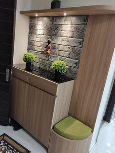 Living Room Partition Design, Pooja Room Door Design, Main Door Design, Entrance Design, Room Interior Design, Home Room Design, Interior Decorating, House Design, Corridor Design