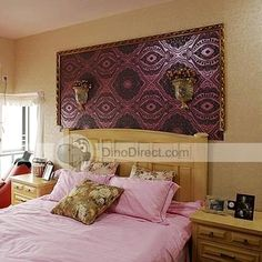 I Like The Idea Of This Fabric Above The Bed. Moroccan BedroomMIDDLE ...