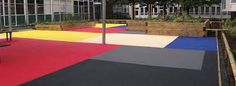 Image result for outside rubber flooring children play areas