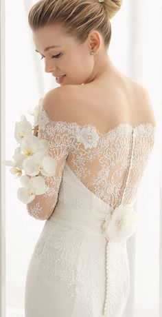 rosa clara dado lace wedding dresses detailed back 2016 collection