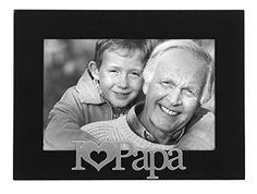 Malden I Love Papa Expressions Frame 4 by 6Inch *** Check out this great product.