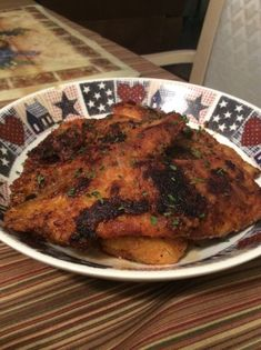Seasoned Talapia Fillets - Found in Taste of Home Quick Cooking. It is a simple, easy and a light dinner. Fish Recipes, Seafood Recipes, Paleo Recipes, Cooking Recipes, Bariatric Recipes, Paleo Meals, Cooking Games, Meal Recipes, Talipia Recipes