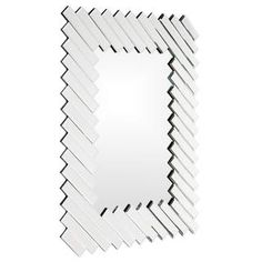 @Overstock - This Gentry Mirror features mirror on mirror diagonal accents. The uniquely styled mirror measures 43 inches high.http://www.overstock.com/Home-Garden/Gentry-Mirror/7857411/product.html?CID=214117 240