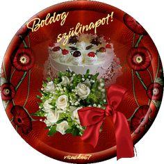 Születésnapi köszöntő versek - marikappsoldala.lapunk.hu Smiley, Decorative Plates, Happy Birthday, Christmas Tree, Holiday Decor, Cake, Congratulations, Night, Heart