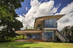 Island Residence | Architect Magazine | Bohlin Cywinski Jackson, Honolulu, Hawaii, Single Family, 2016 AIA Housing Awards, AIA - National Awards 2016