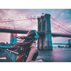 "71.8k Likes, 1,044 Comments - Brandon Woelfel (@brandonwoelfel) on Instagram: ""Beneath cotton candy skies Working with @bose to share their lightweight #QC35 headphones with…"""
