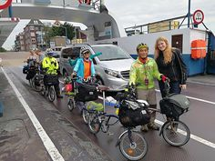 Bicycle touring grou