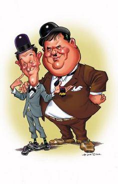 Laurel & HardyTU  Y  YO SOMOS LOS HIJOS DEL DESIERTO