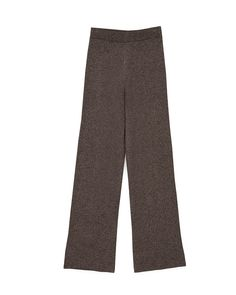 FUMO - Knit pants - Black melange Knit Pants, Trouser Pants, Pajama Pants, Black Pants, Knitwear, Pumps, Knitting, Casual, Model