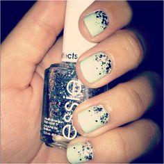 Painted my nails with my new nail polish :)