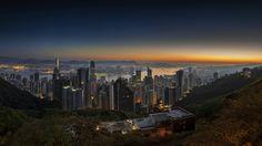 #HongKong #Shenzhen #China #Landscapes #Photography #Travel #Adventure #Journey #City #Skyscrapers #Sunset
