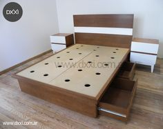 1000 images about muebles juveniles on pinterest mesas for Camas con cajones debajo