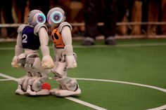 How 'we' won the world robot soccer championship