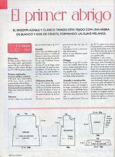 SOLO ROPITA DE BEBE EN PUNTO, GANCHILLO Y TELA (pág. 1209)   Aprender manualidades es facilisimo.com: