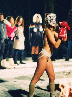 Boxing Fight, Bikinis, Swimwear, Running, Female, Join, Fashion, Bathing Suits, Moda