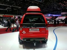 New 2014 Tata Safari Storme Mountain Rescue From Back Side View