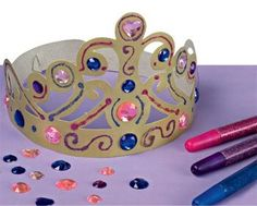 """Crown Craft.  (Idea for """"Frozen"""" Movie - Girl's Party)"""