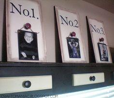 No. Picture/Plaques