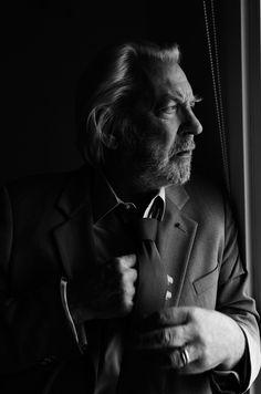 Donald Sutherland by Kurt Iswarienko.