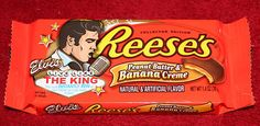 Elvis Peanut Butter & Banana Creme Reese's Cups... They were SO good!!