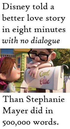 so true, it was a beautiful story.