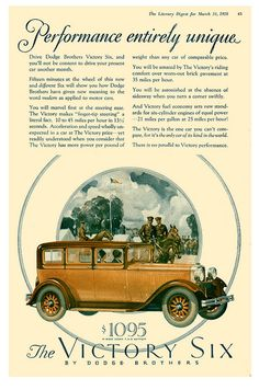 1928 Dodge Victory | Flickr - Photo Sharing!