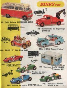 catalogue dinky toys 1970