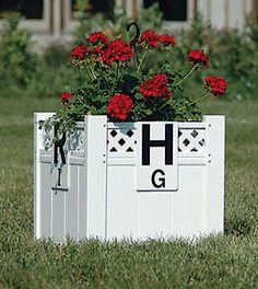 2' Lattice Top Dressage or Decorative Flower Box