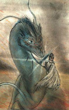 The Inheritance Cycle - Eragon and Saphira by TwoSocks16@deviantART.com