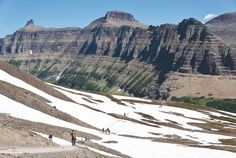 I hope our Glacier NP hiking experience turns out this great. From the Bend Bulletin. #Montana