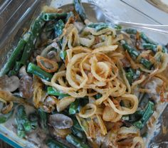 Traditional Green Bean Casserole - Use with Pamela's Bread and Baking Mix