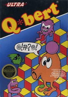 Q*bert.  I heard you can play it on your iPhone now.