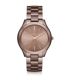 Slim Runway Sable and Rose Gold-Tone Watch | Michael Kors OMG i want !!!!
