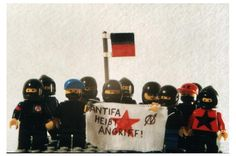 Adorable Lego Anti-Fa anarchists :DD