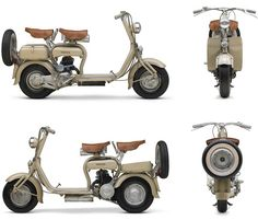 Lambretta - Lambretta was a line of motor scooters originally manufactured in Milan, Italy by Innocenti. In the Indian government bought the Milanese factory and the rights to the Lambretta name, creating Scooters India Limited (SIL). Scooters Vespa, Moto Scooter, Lambretta Scooter, Motorcycle Bike, Vintage Motorcycles, Cars And Motorcycles, Italian Scooter, Side Car, Old Bikes
