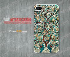 Tree of Life IPhone 4 case Tree iPhone 4s case Tree iphone 4 case iphone 4 4s 4g Hard/Rubber case-Choose Your Favourite Color  by MyCasesKing, $6.99