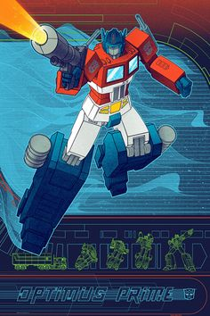 Optimus Prime by Kevin Tong - Acidfree Gallery