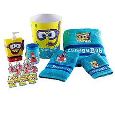 haha I would never but this is so awesome! Spongebob EVERYTHING for the bathroom!