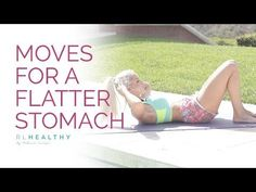 9 Moves for a Flatter Stomach | Rebecca Louise - YouTube