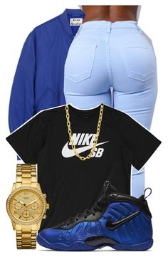"""""""Untitled #540"""" by sammy-pinckney ❤ liked on Polyvore featuring Acne Studios, NIKE, GUESS and Luv Aj"""