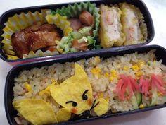 Twitter from @riekorin おはよう(^O^) 今日のお弁当は、ごんぎつね〜♪ #kyaraben #obentoart