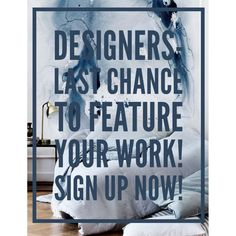 Hey Designers- Last chance to feature your work! Don't miss your chance to win our designer contest, and get free promotion across all social media channels as well as an exclusive feature on our blog (plus a few extra goodies)!  http://scoutdecor.com/designers-contest/  #designcontest #interiordesign #decor