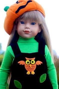 """~Haunting Halloween Hoots!~ for 18"""" Effanbee Katie, Magic Attic dolls by Sharon"""