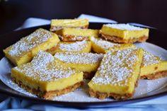 Macadamia & Sal: Barritas de leche condensada y limón